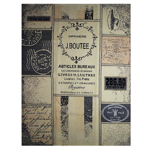Alfombra diseño vintage de patchwork