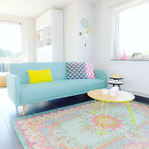 alfombra estilo vintage pastel - Alfombras Vintage