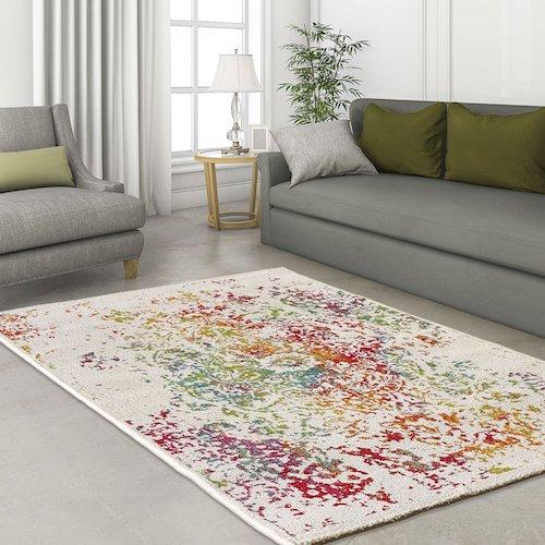 Alfombra vintage designer modern multicolor alfombras for Diferentes tipos de alfombras