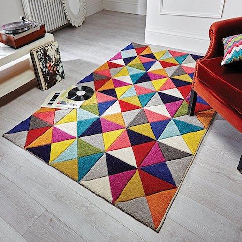 alfombra estilo vintage spectrum - Alfombras Vintage